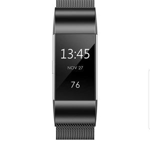 Jewelry - Fitbit Charge 2 black replacement band